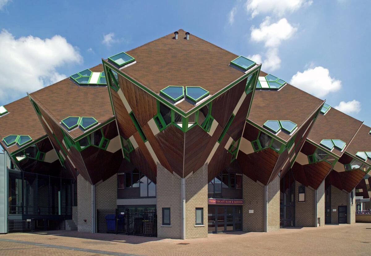 Кубические дома в Хелмонде