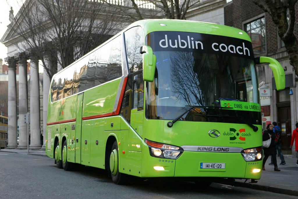 Автобус Dublin Coach