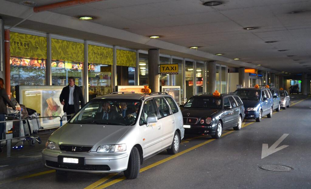 Такси в Дублинском аэропорту