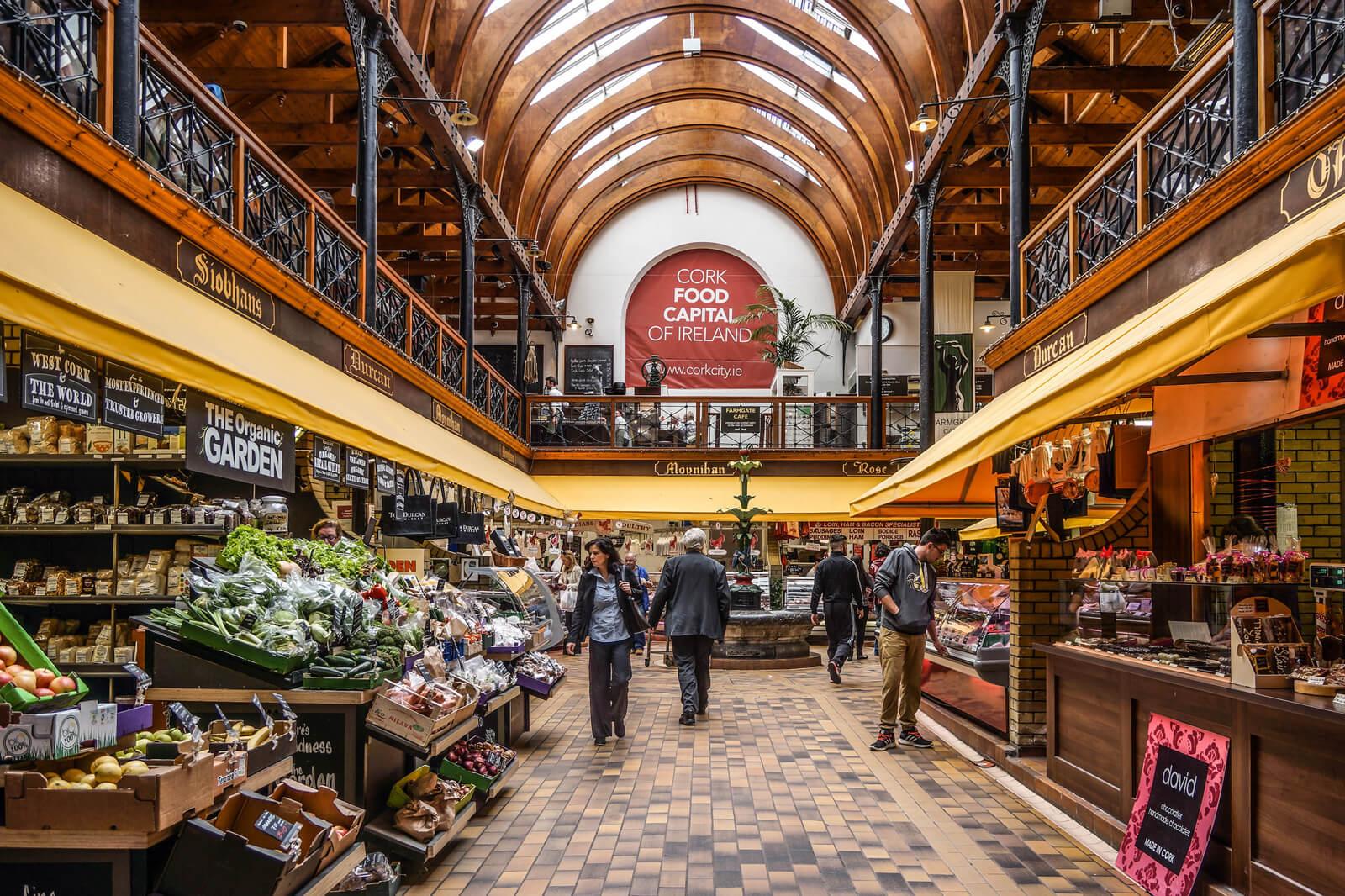 Поход по продуктовому рынку, Корк
