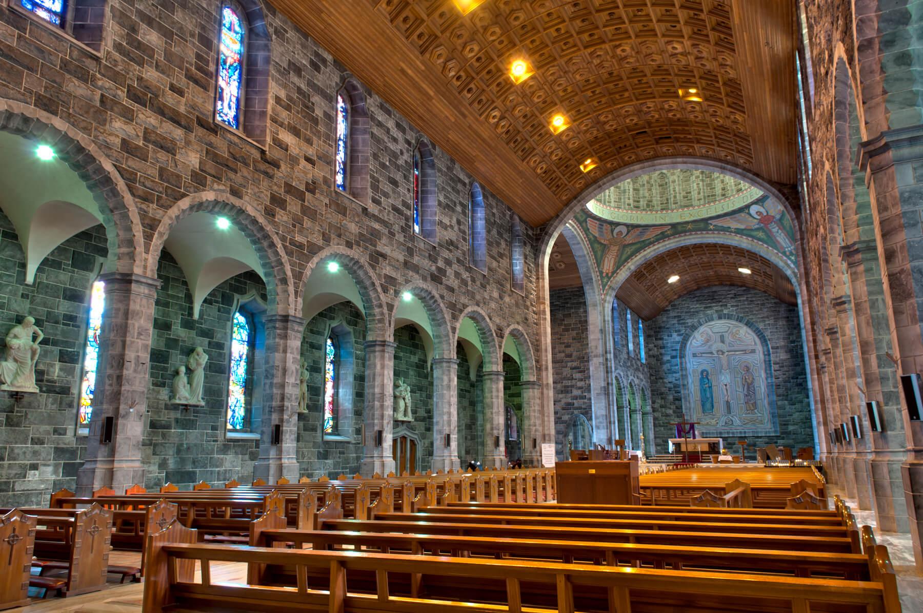 Интерьер собора Вознесения Девы Марии и святого Николая