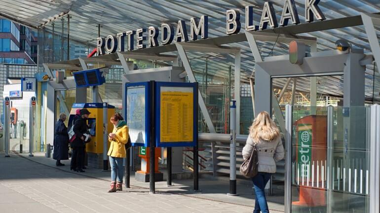 Станция Rotterdam Blaak