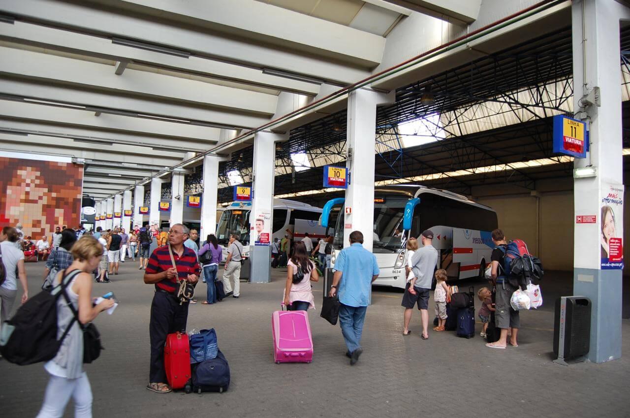 Автобусы от автостанции Sete Rios