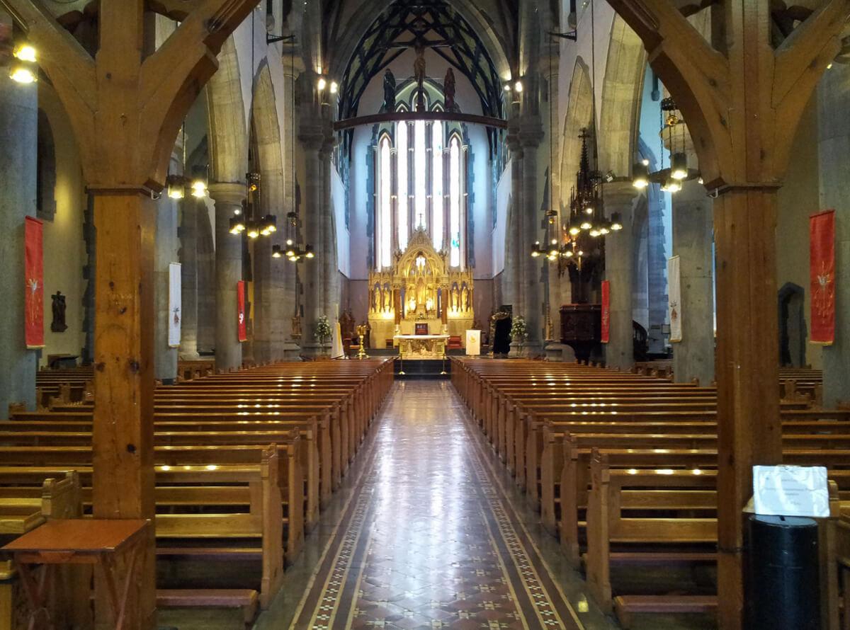 Интерьер собора Св. Иоанна