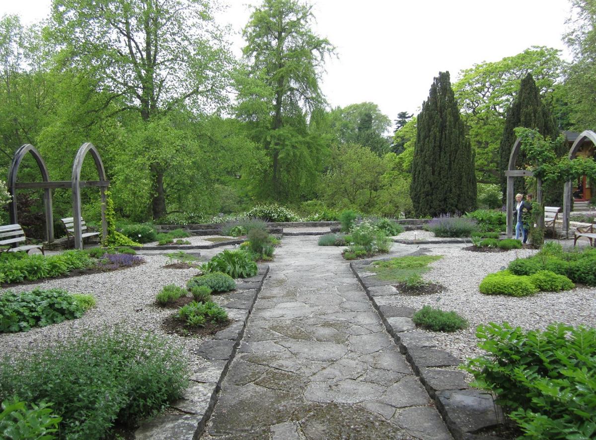 Ботанический сад Висбю
