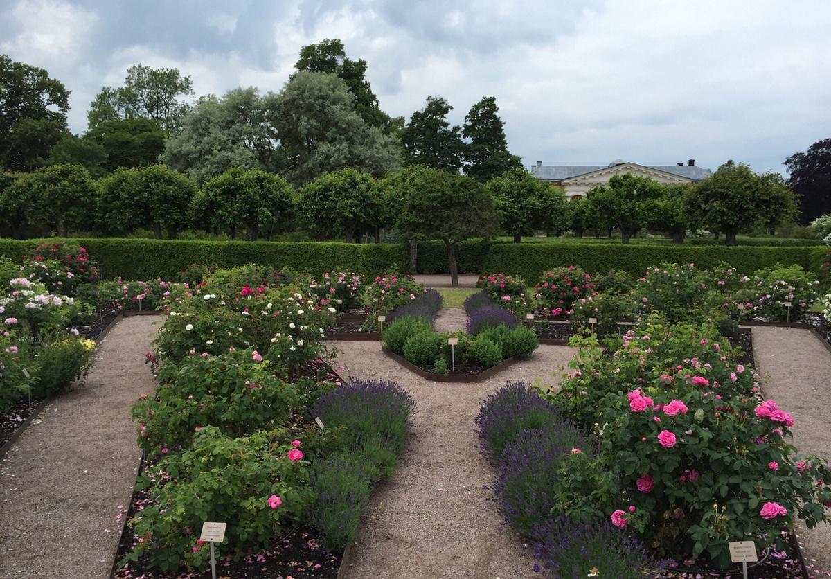 Ботанический сад Уппсалы