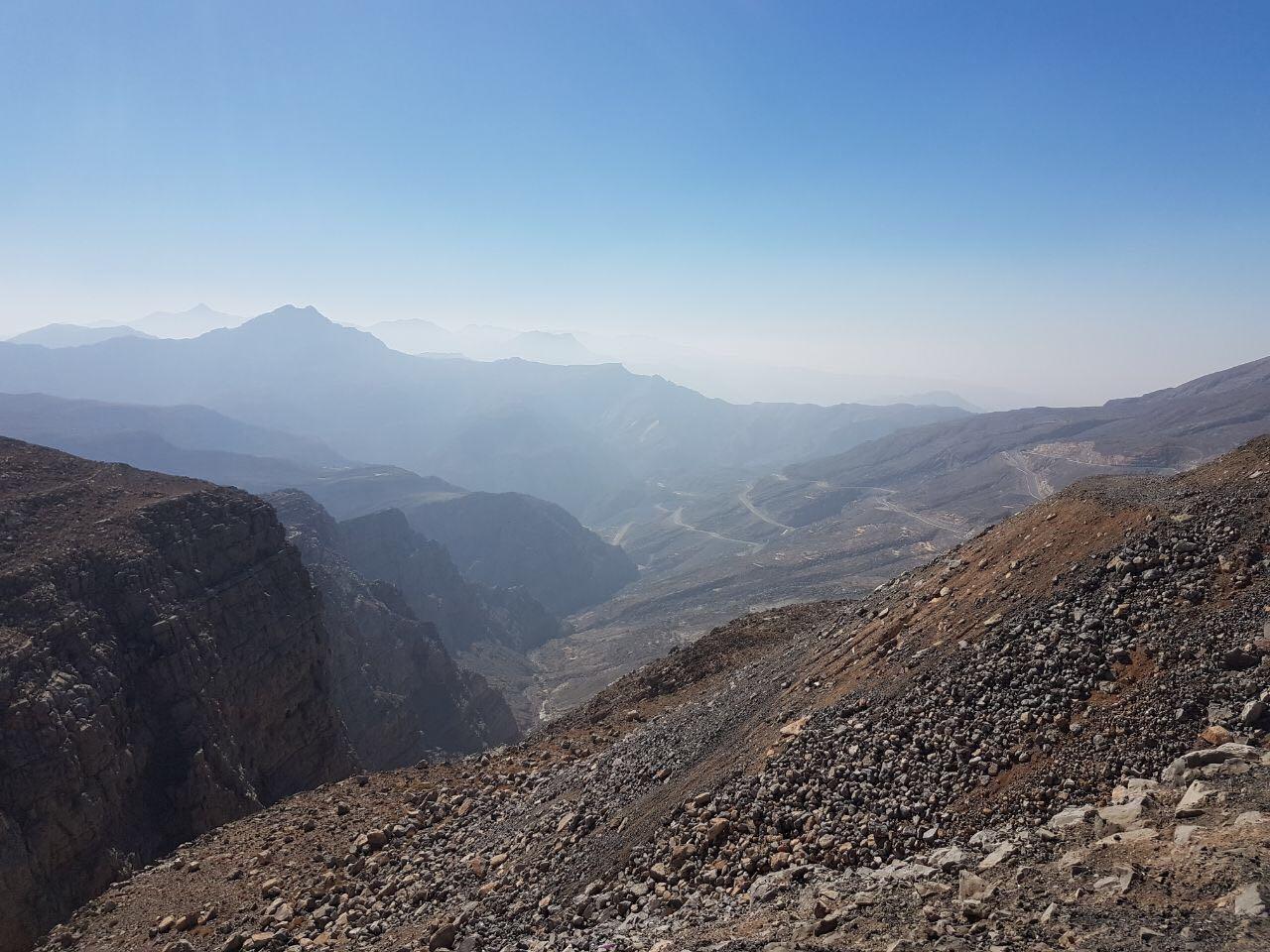 Вид с горы Джебель Джаис