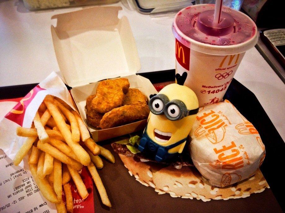 этой из чего еда в макдональдсе фото отличная схема для