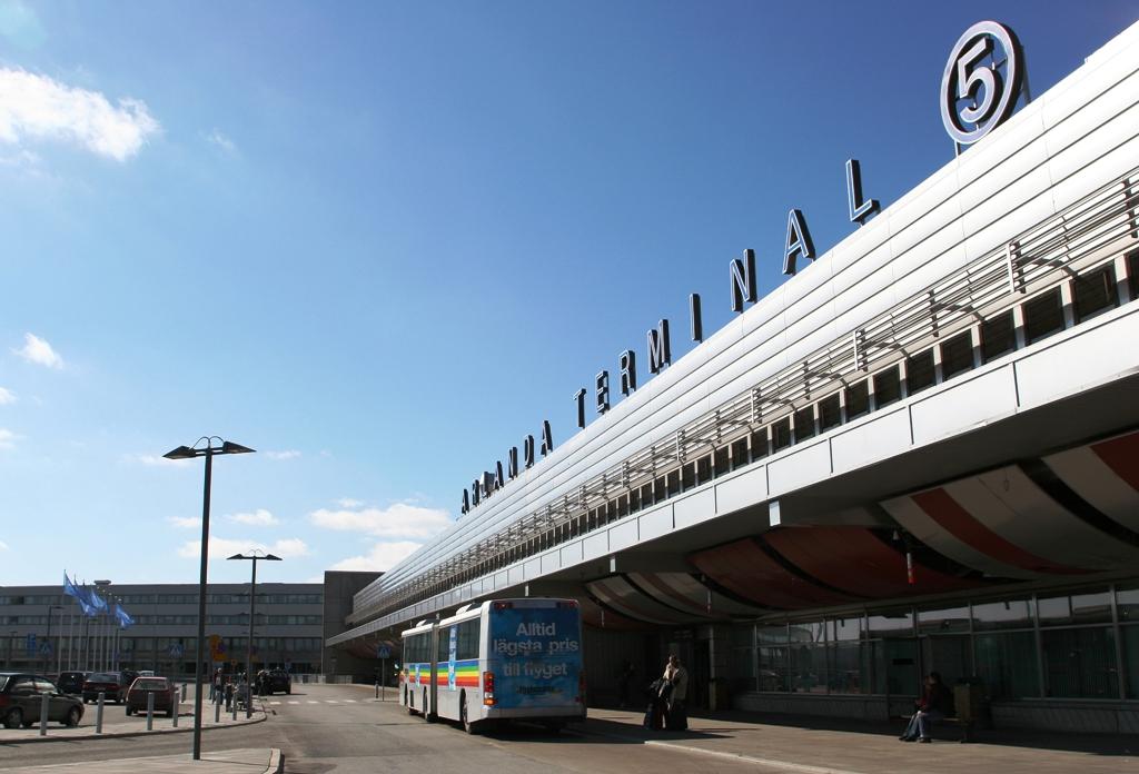 В аэропорту Арланда (терминал №5)