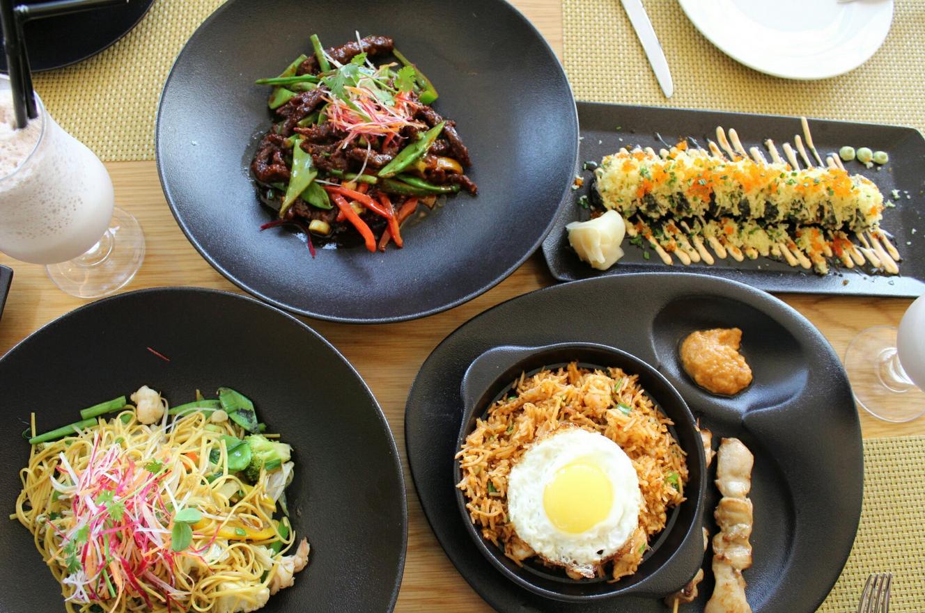 В ресторане азиатской кухни Sanchaya