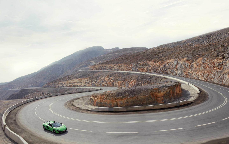 Дорога на гору Джебель Джаис