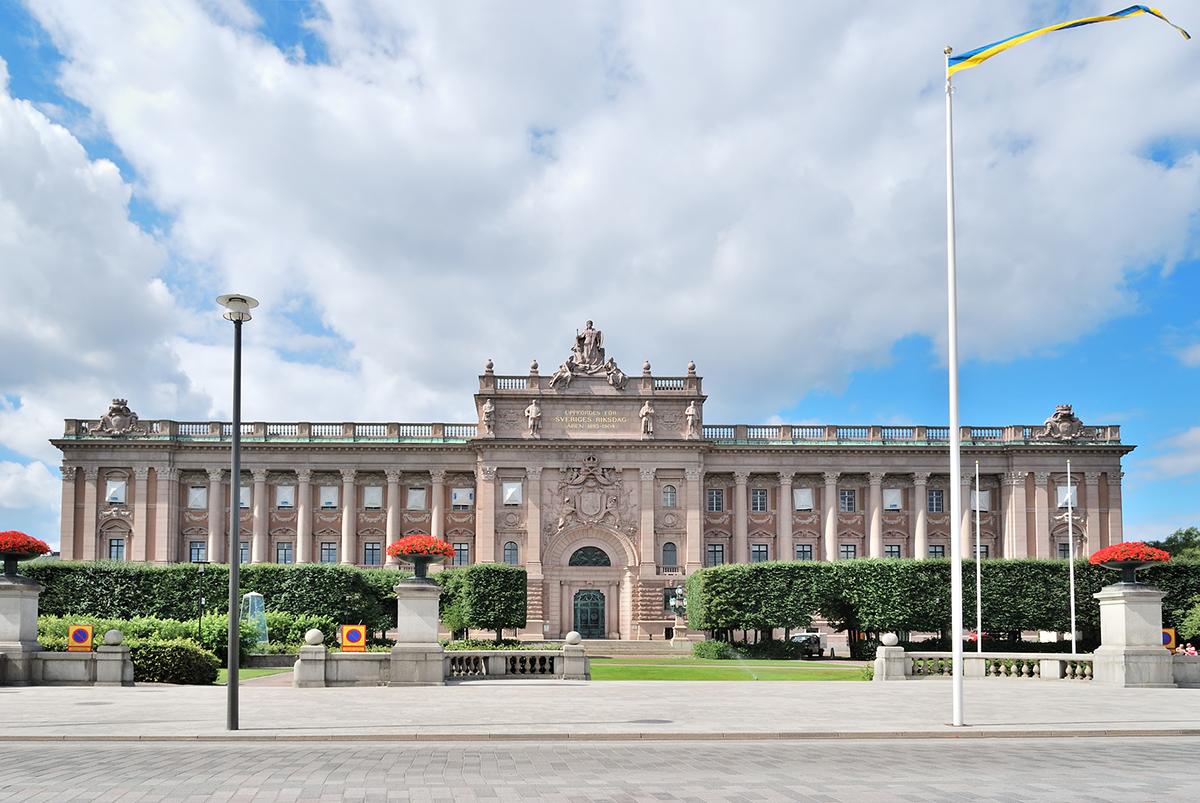 Здание парламента, Стокгольм
