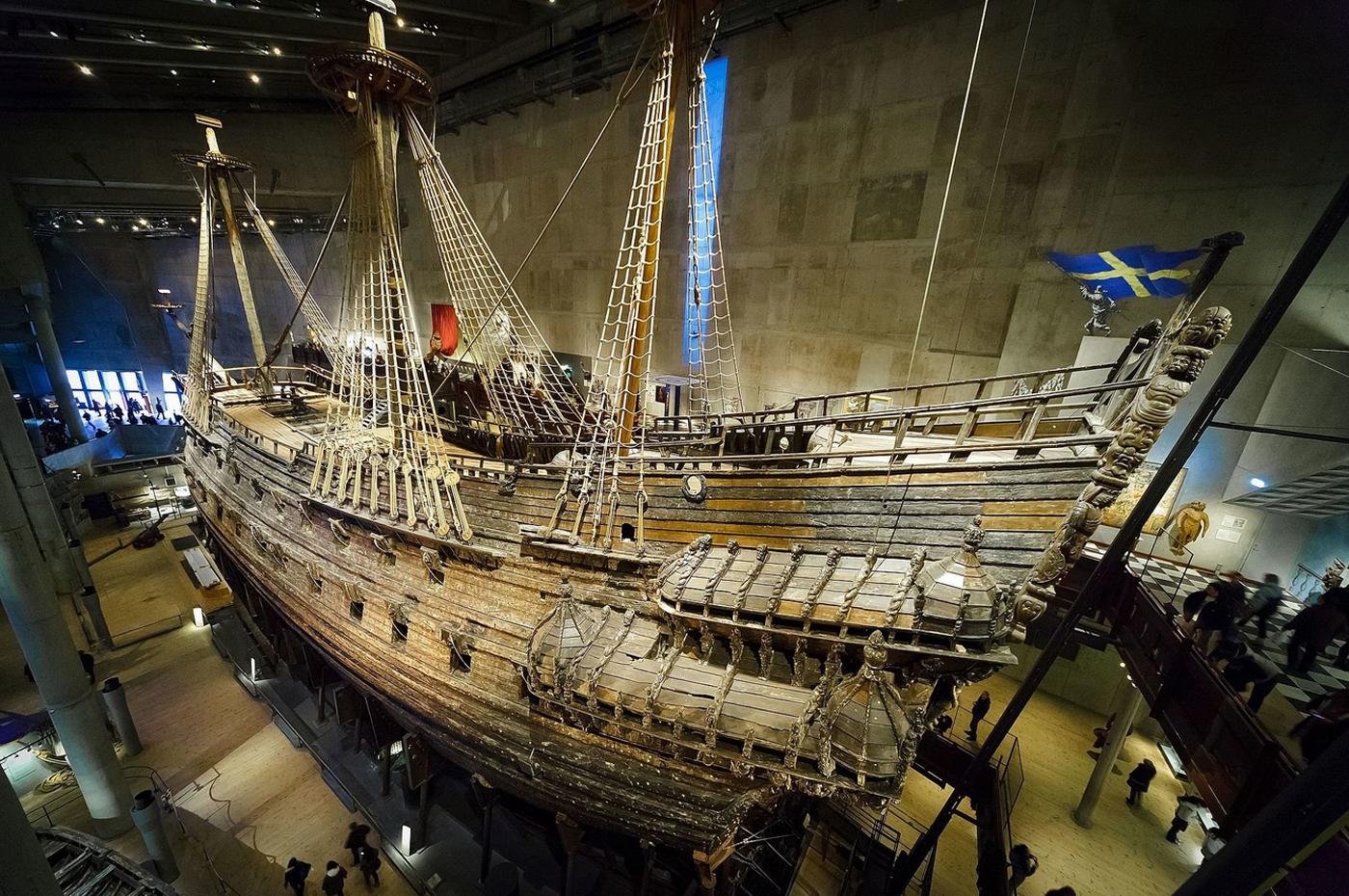 Самый большой корабль 17-го века в музее Васа