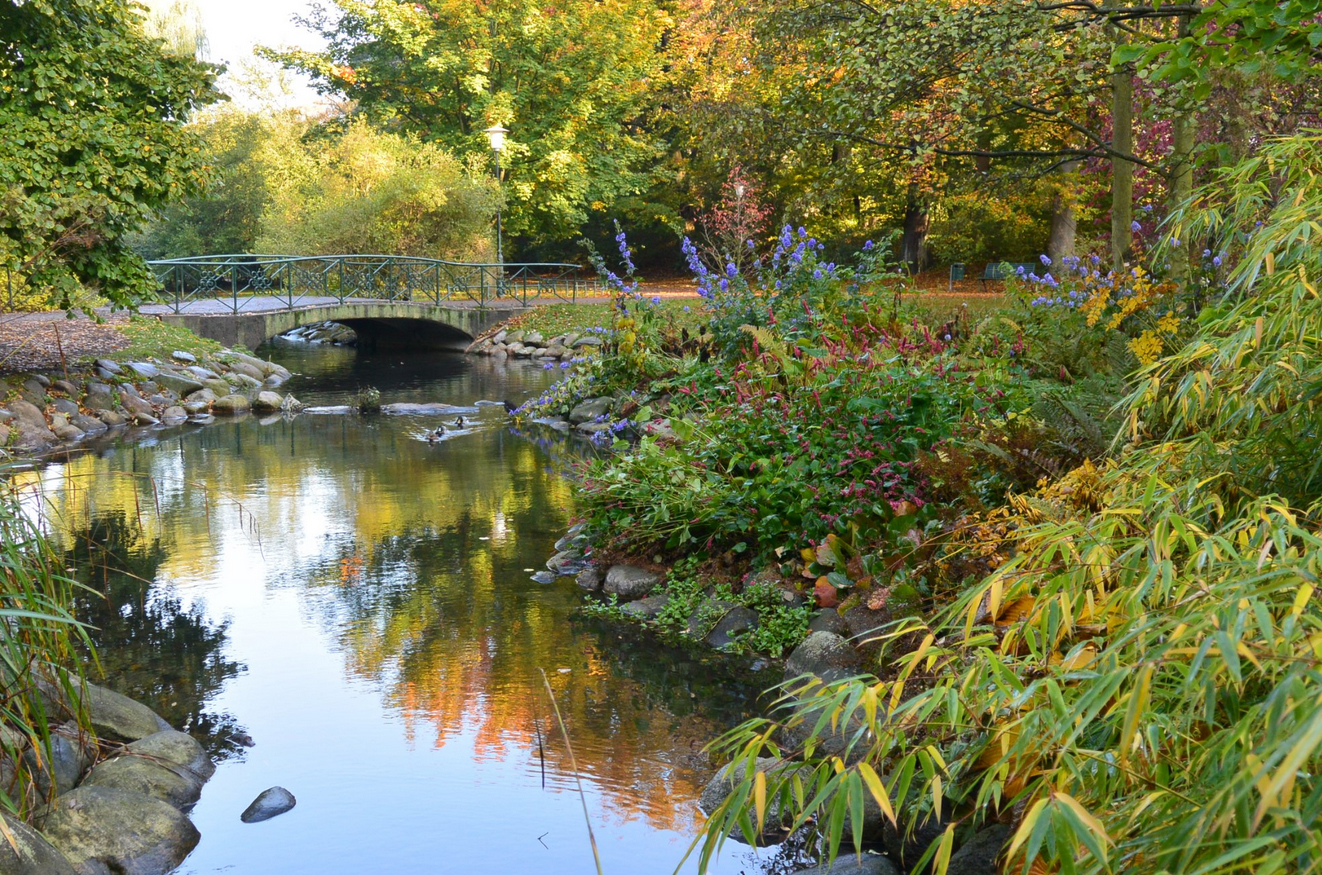 Королевский парк в Мальмё