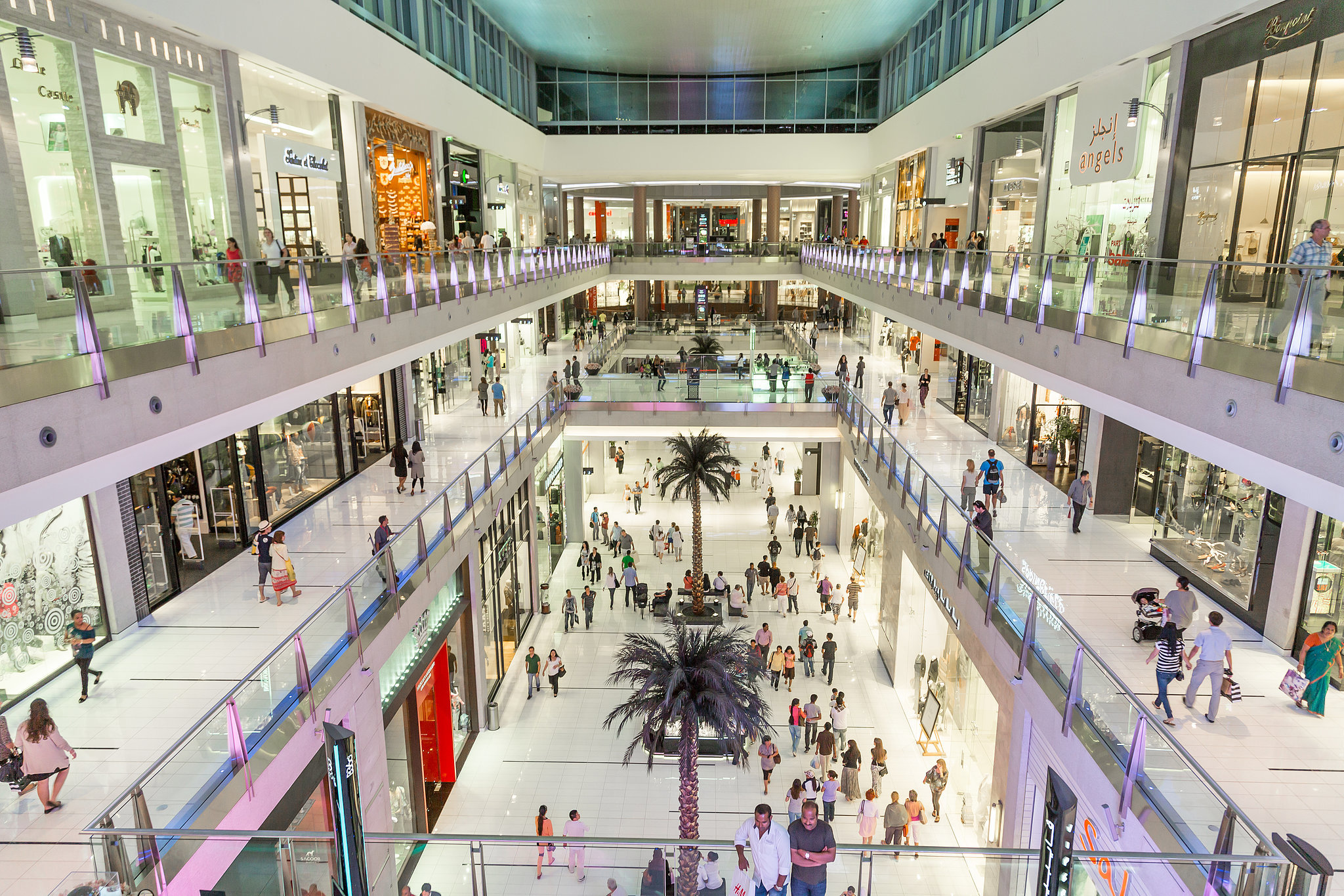 Магазины в Дубай Молл