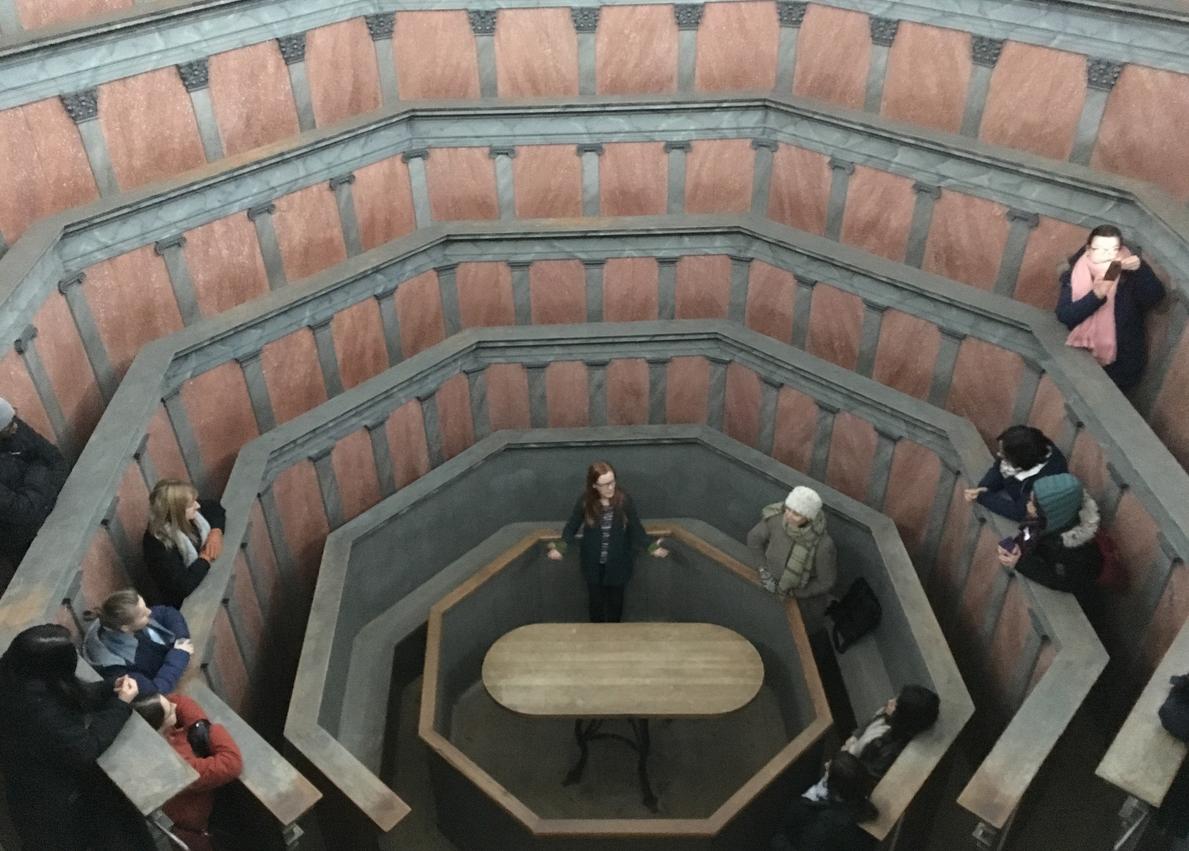 Анатомический театр в музее