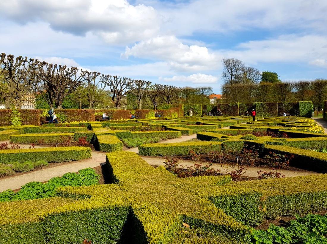 Парк замка Росенборг