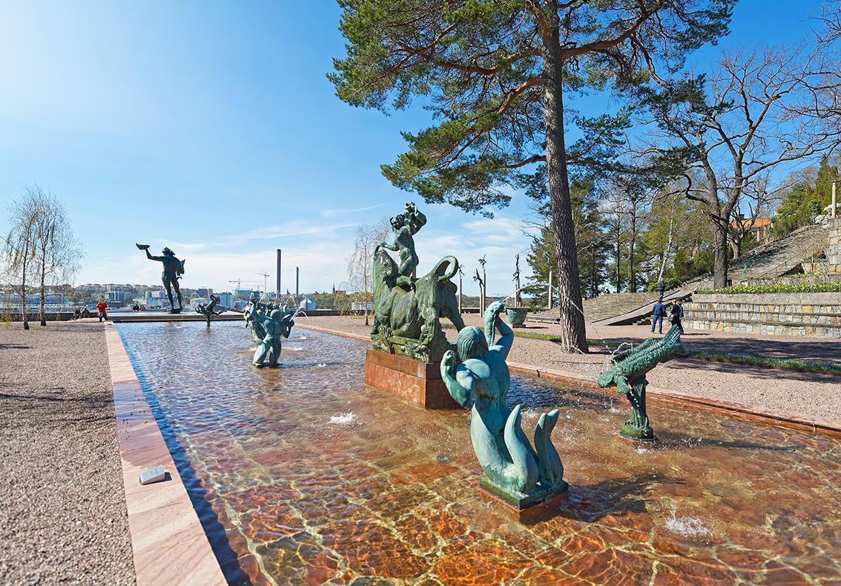 Парк-музей скульптур Миллесгорден