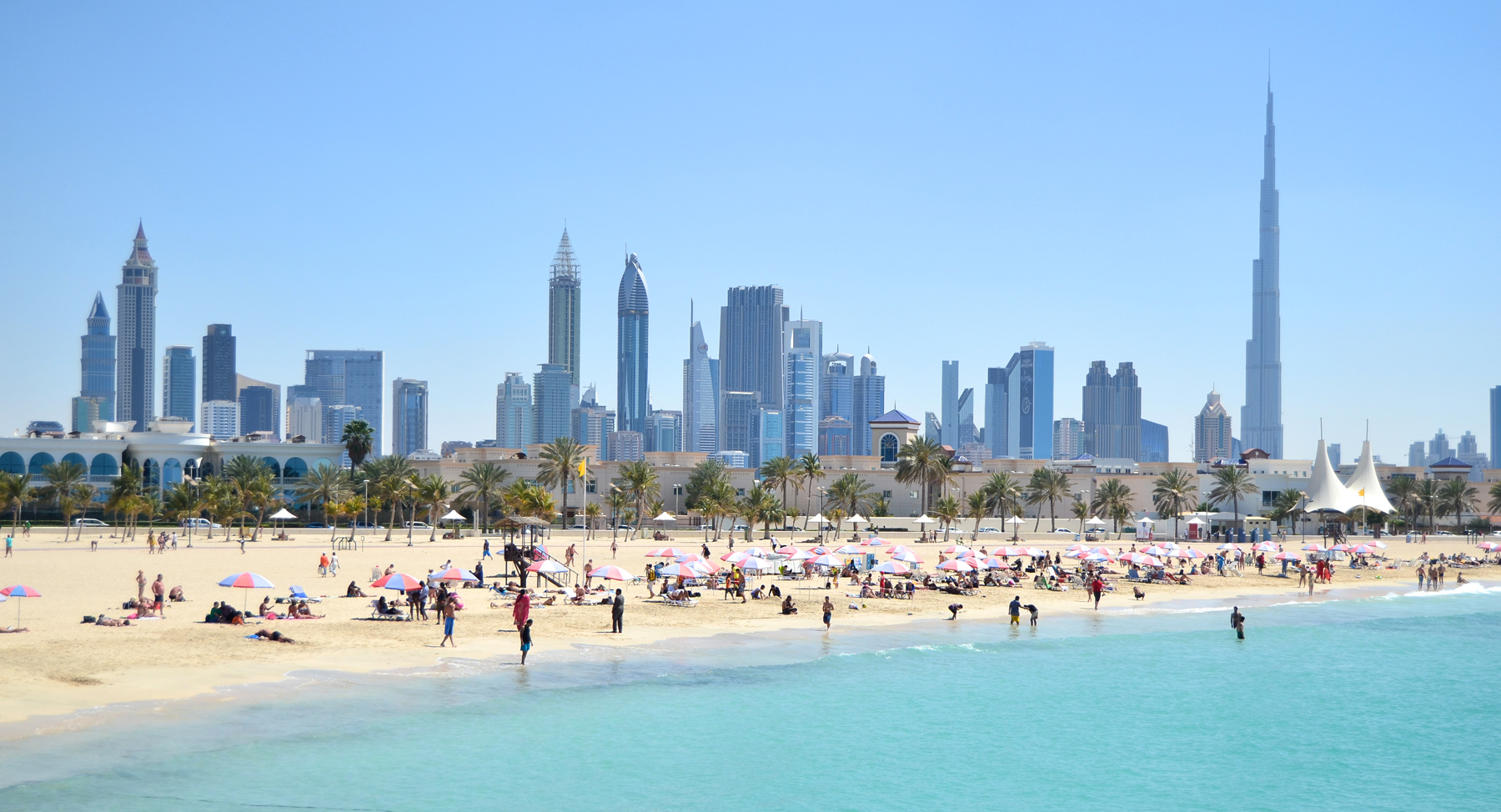 Пляжный отдых в октябре в ОАЭ