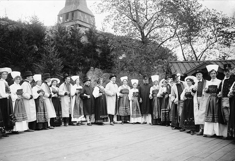 Скансен, 1904 год
