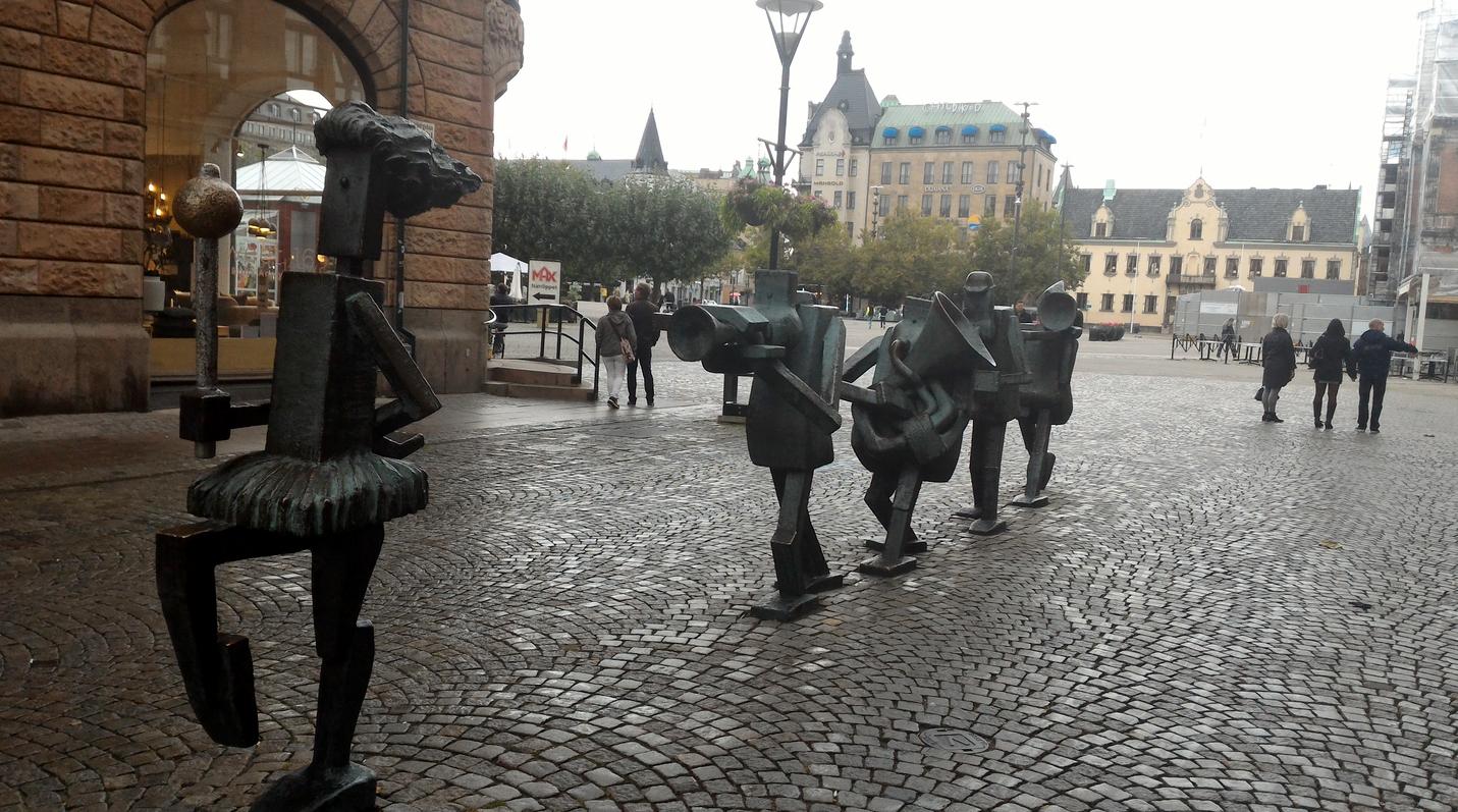Скульптурная композиция – Уличный оркестр