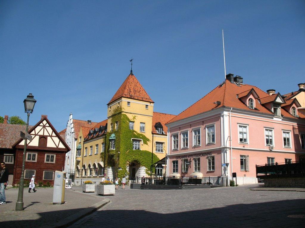 Улочка города Висбю