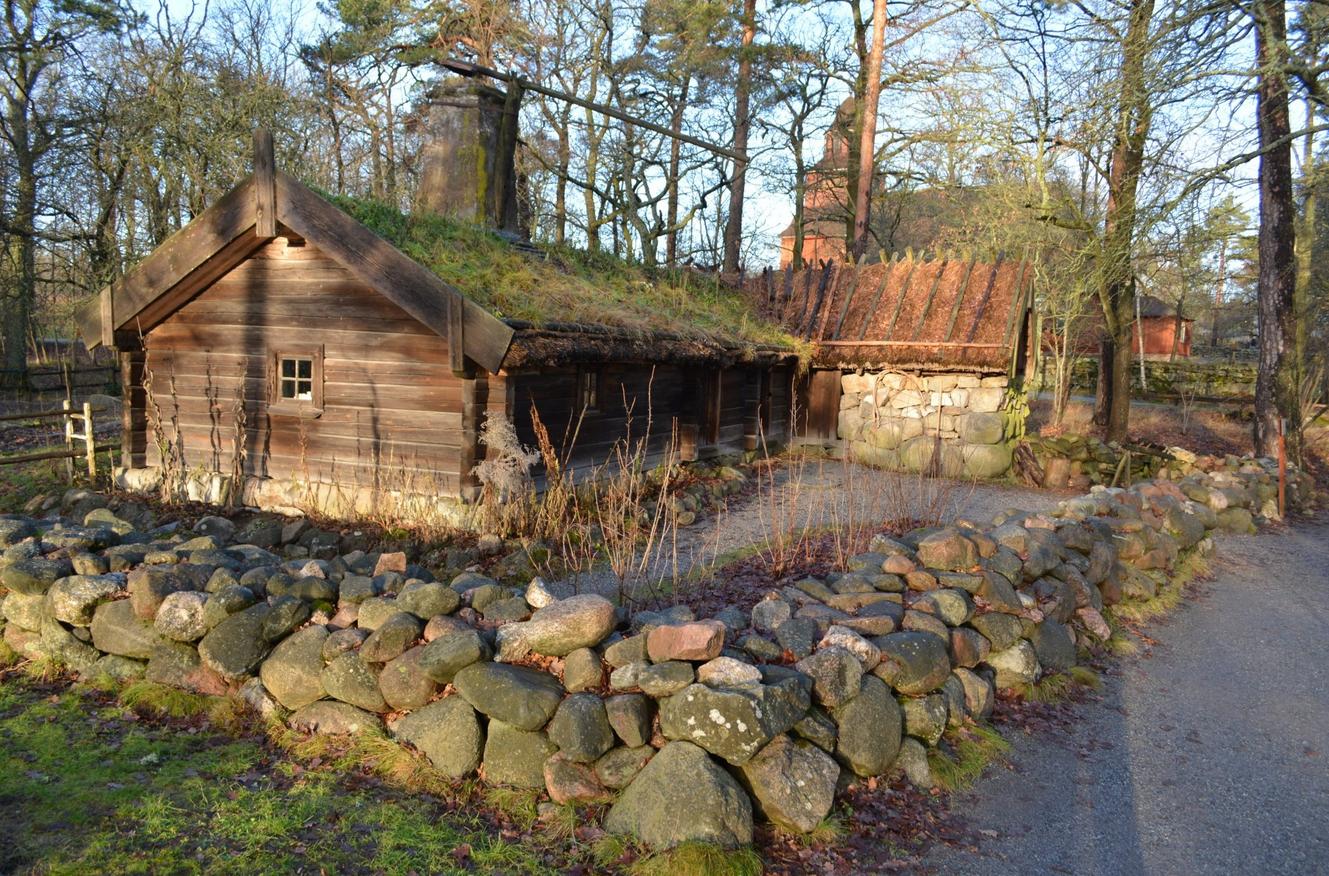 Старые дома шведов