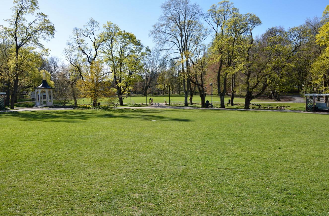 Центральный парк Tradgardsforeningen