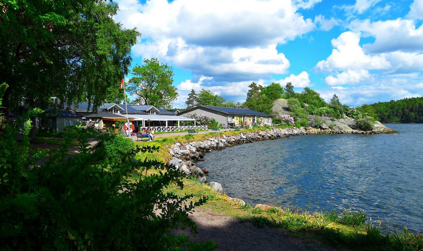 Экскурсия на остров Fjaderholmarna