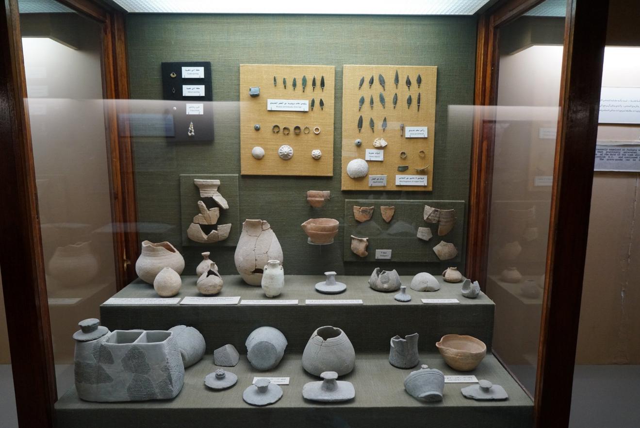 Экспонаты в национально музее Ras Al Khaimah
