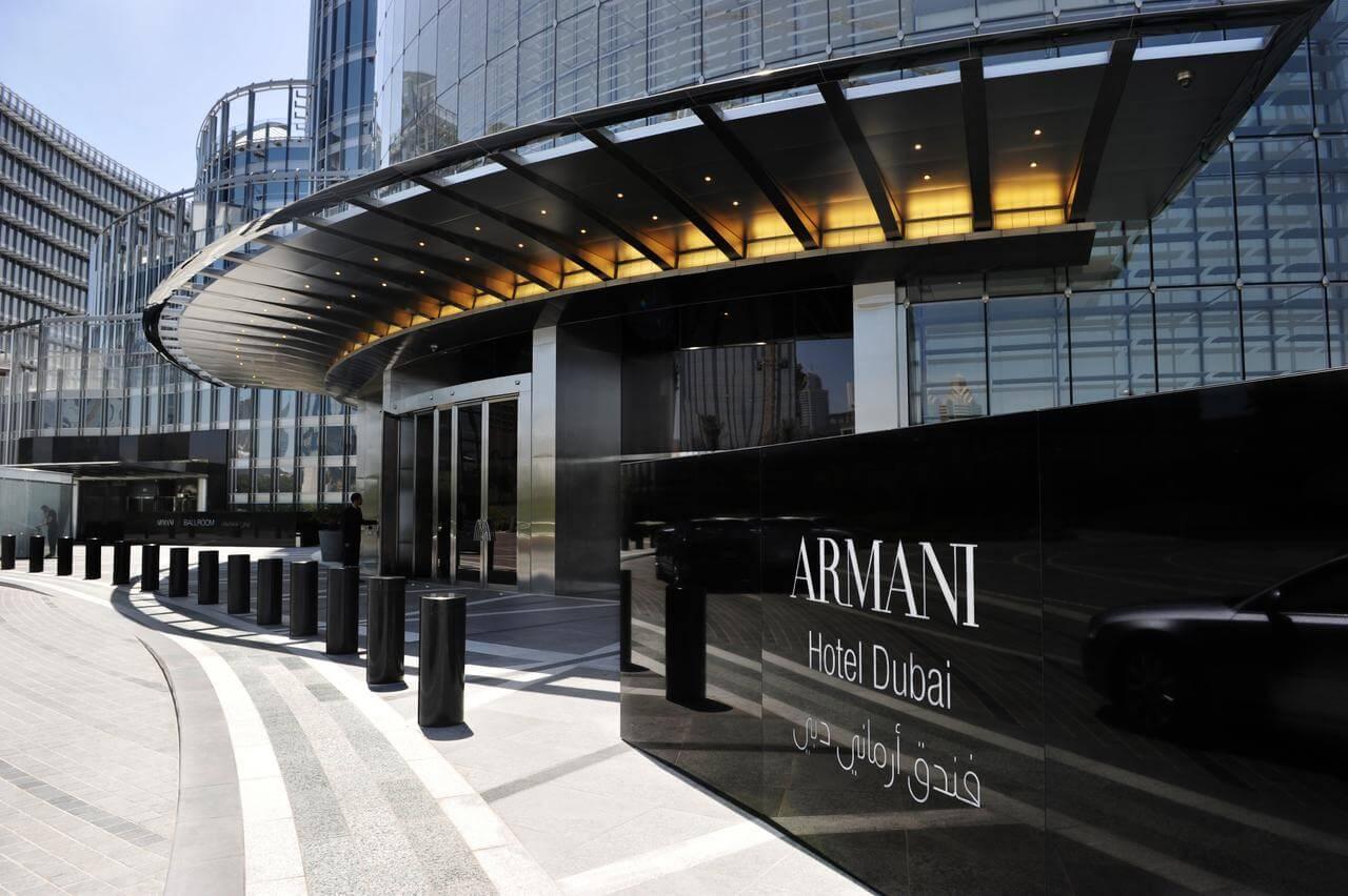 Отель Armani