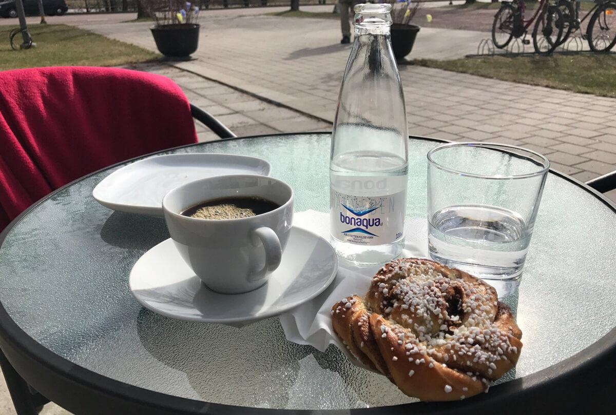 На территории музея есть кафе