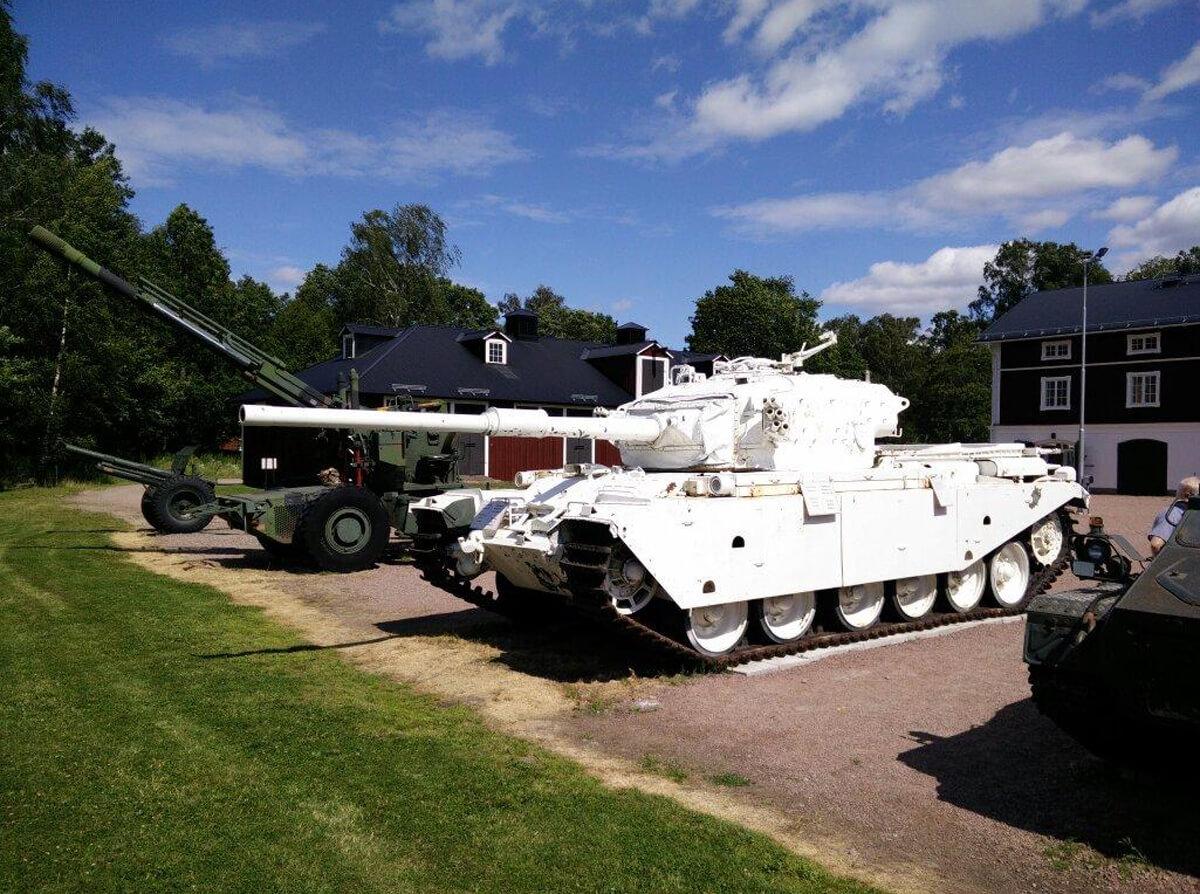 Музей военной техники в Карлстаде