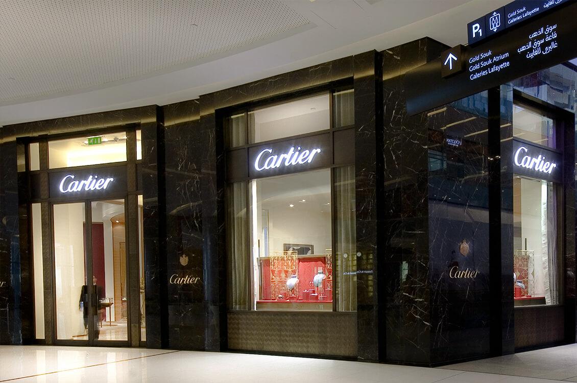Бутик Cartier в Дубай Молле