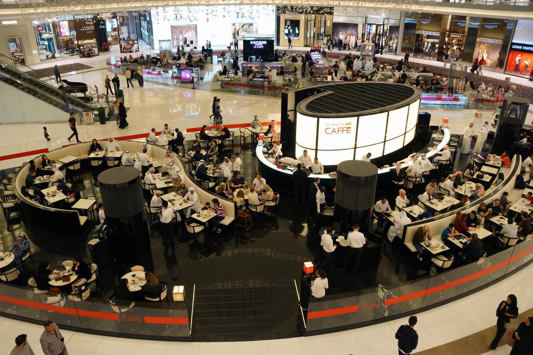 Кафе в Dubai Mall