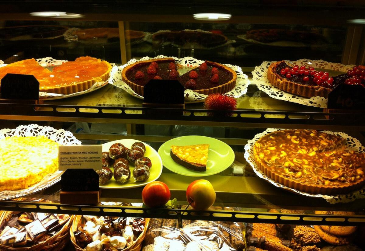 Десерт в Hermitage