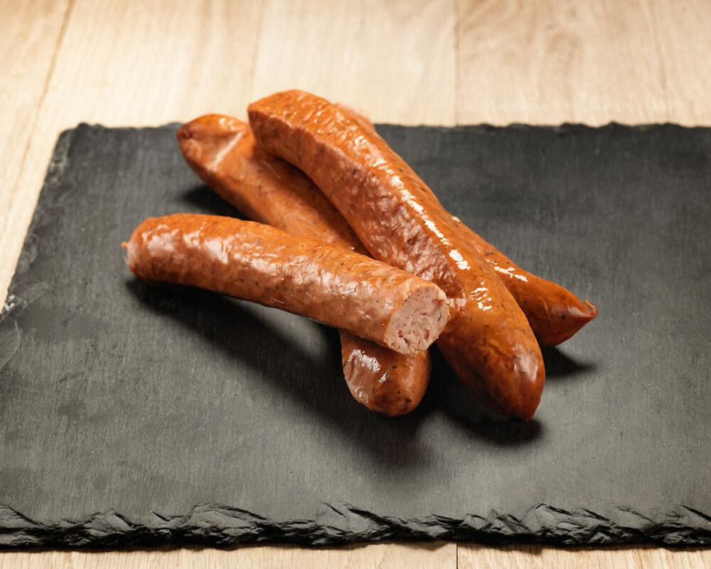 Инстербанд - шведские острые колбаски
