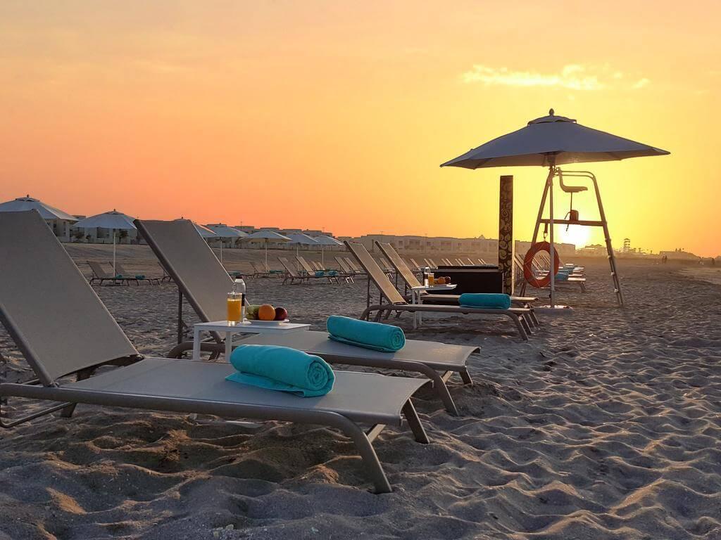 Пляж отеля  Jannah Resort & Villas Ras Al Khaimah