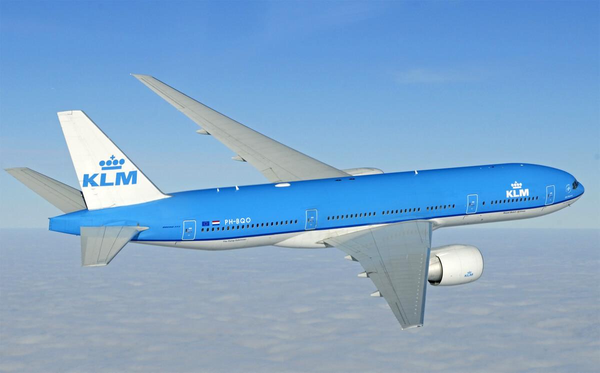 Рейс компании KLM