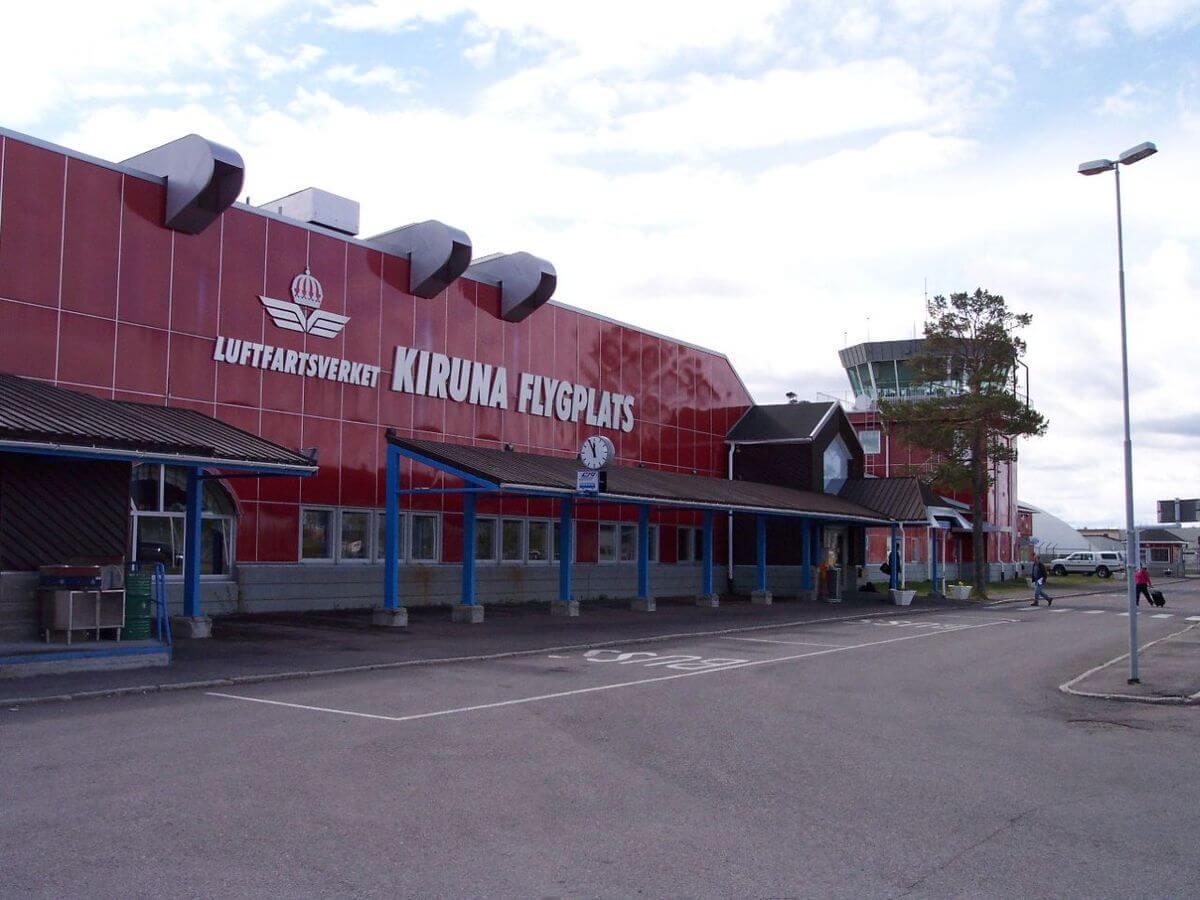 Аэропорт в городе Кируна
