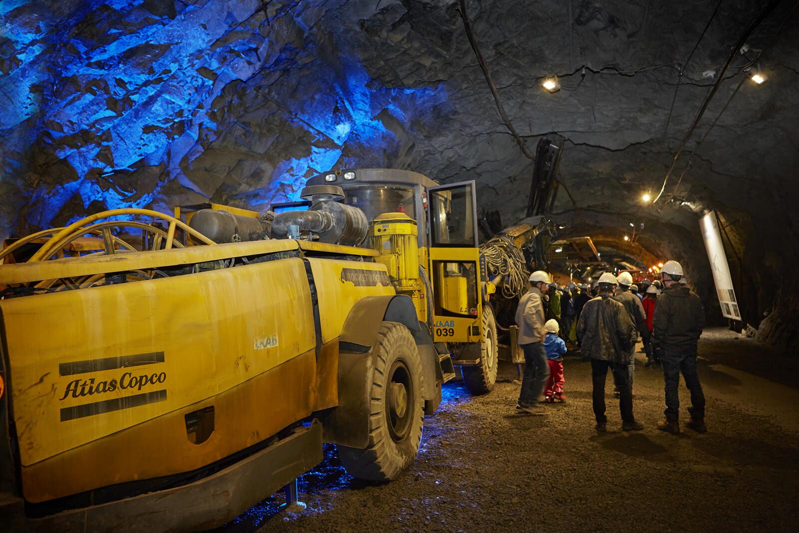 Шахты по добыче железной руды