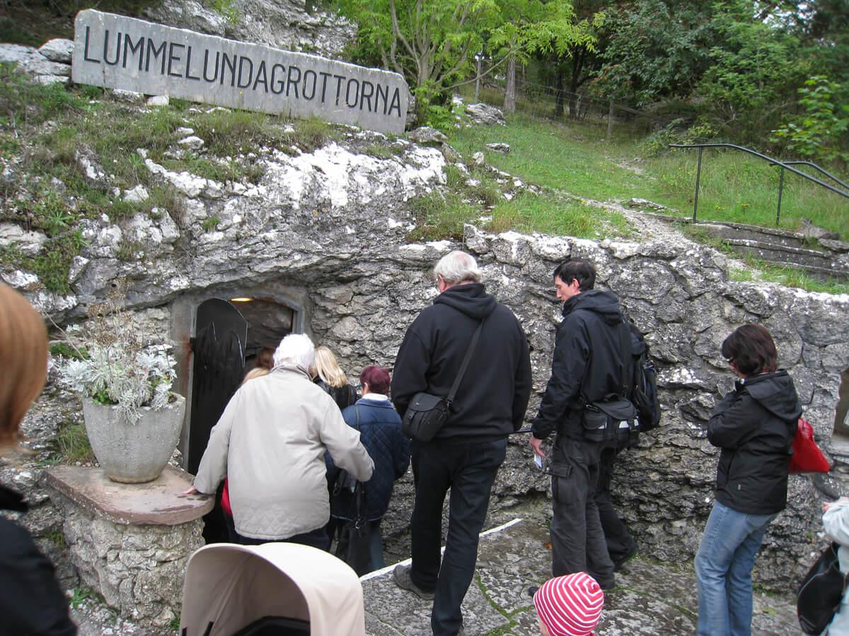 Пещера Lummelundagrottan
