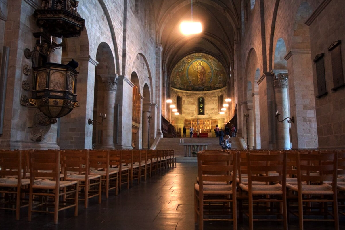 В кафедральном храме Лунда