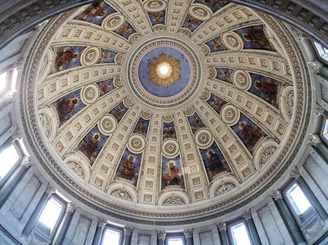 Купол Мраморной церкви