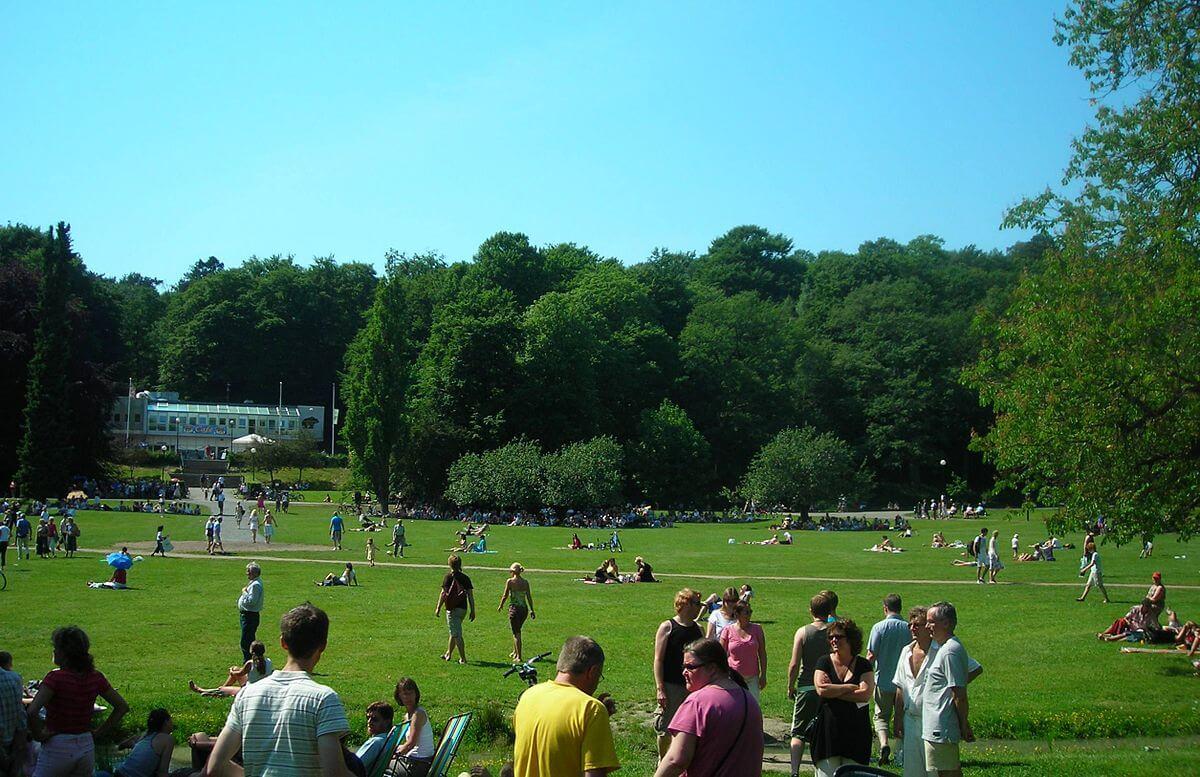 Парк Slottsskogen