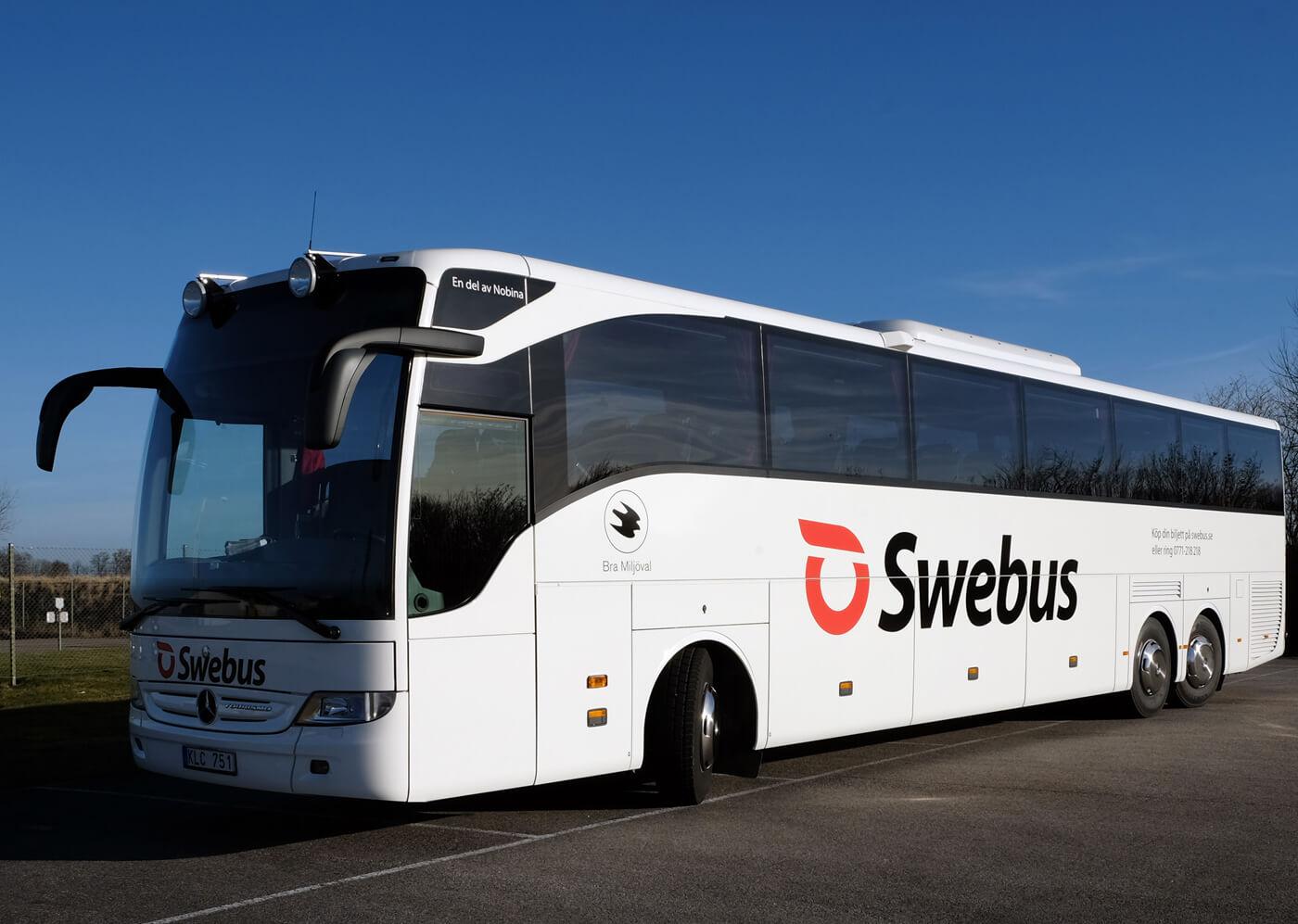 На автобусе до Уппсала