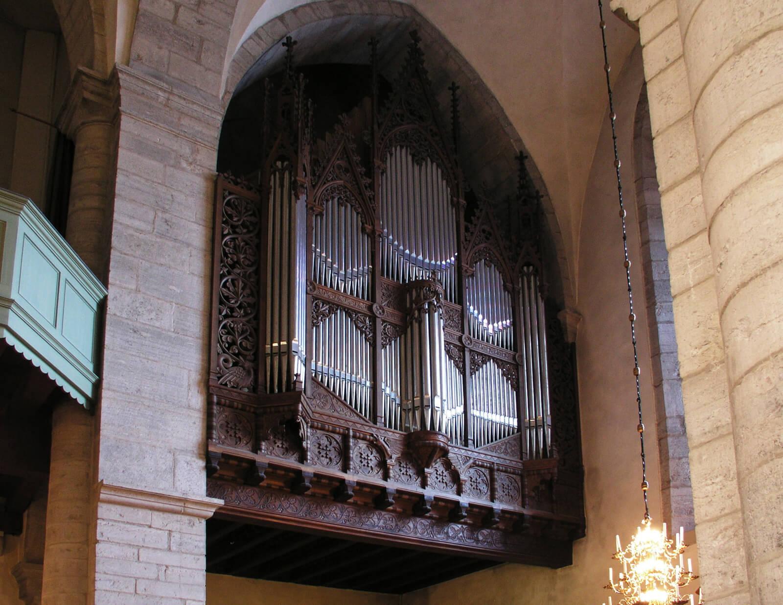 Орган в храме Святой Марии