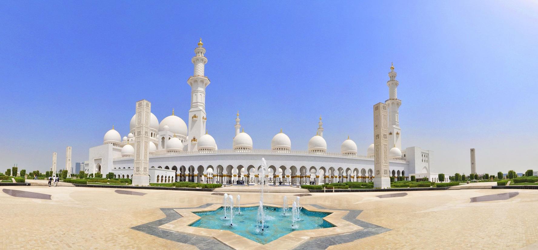 Архитектура мечети шейха Зайда