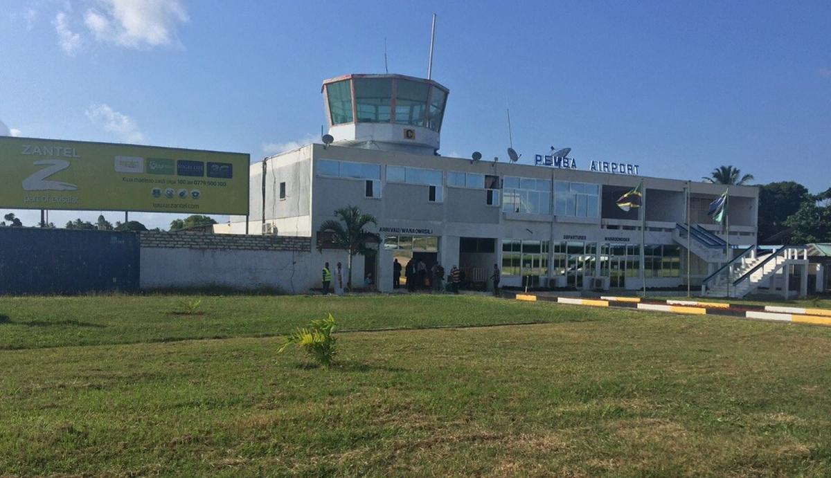 На Пембе есть свой аэропорт