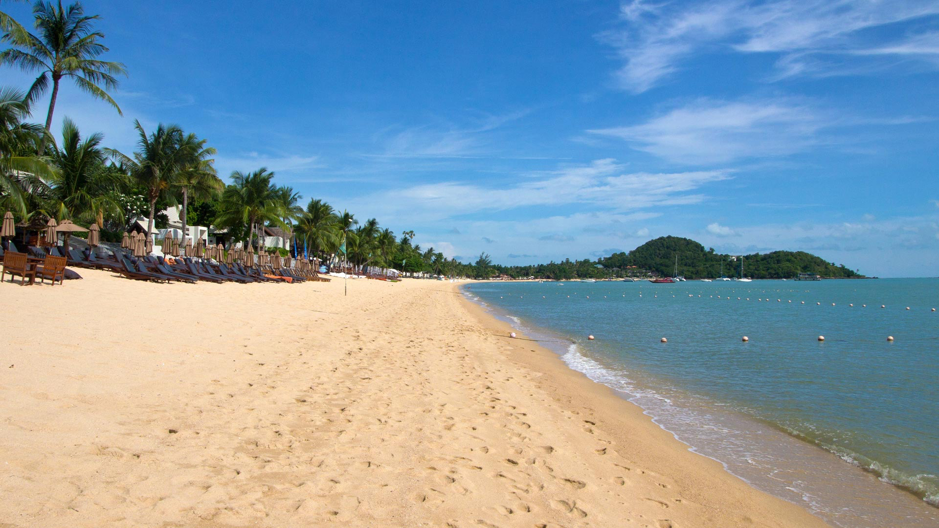 Большой пляж Чавенг, Самуи
